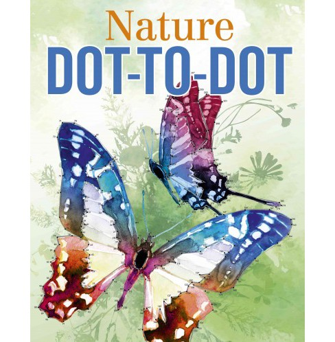 Nature Dot-to-dot (Paperback) (David Woodroffe) - image 1 of 1