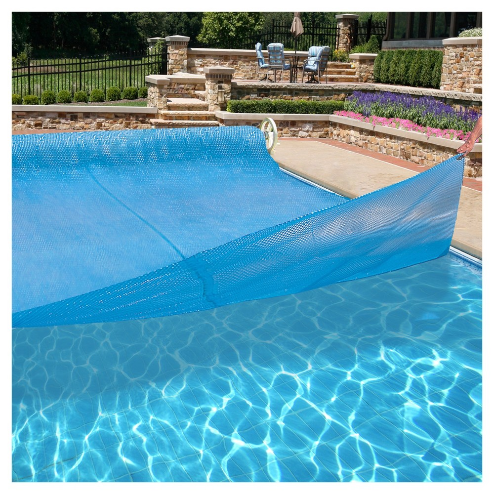 Blue Wave SolarPlex Plus A/G Solar Blanket 15'X30' OV 8-Mil - Blue