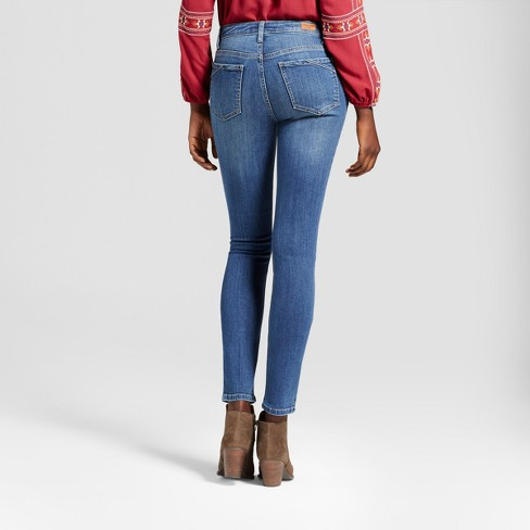 ccbb8d84 Women's Curvy Fit Skinny Jeans - Crafted By Lee® : Target