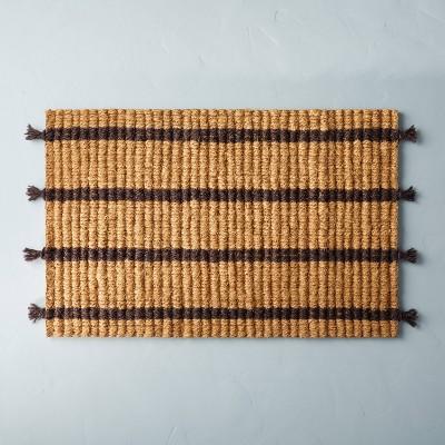 Multi Stripe Estate Coir Door Mat - Hearth & Hand™ with Magnolia