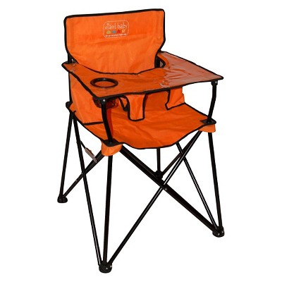 Ciao Baby Portable High Chair - Orange