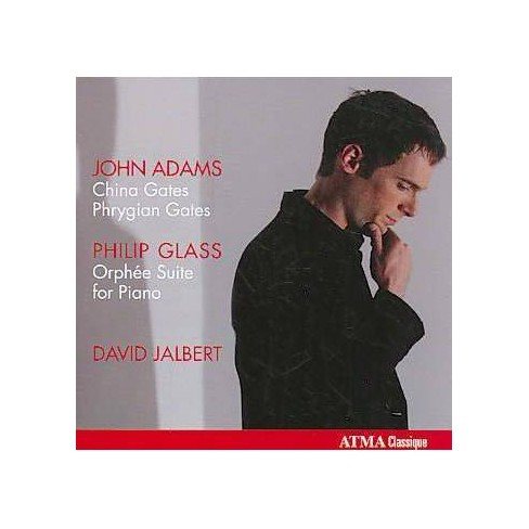 David Jalbert - Adams/Glass: David Jalbert Plays John Adams, Philip Glass (CD) - image 1 of 1