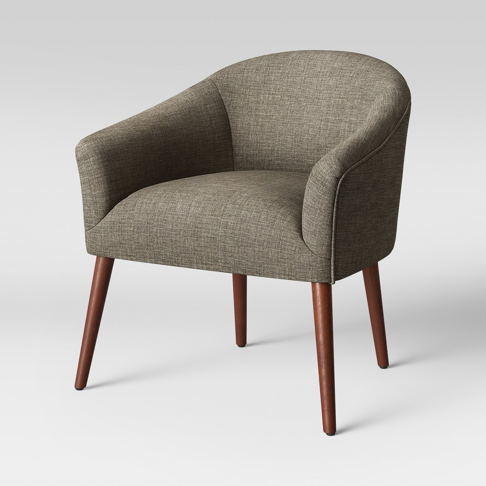 Remarkable Pomeroy Barrel Accent Chair Taupe Brown Project 62 Caraccident5 Cool Chair Designs And Ideas Caraccident5Info