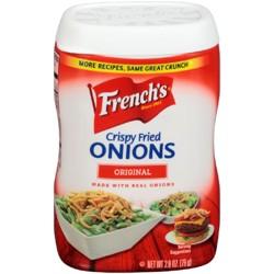 French's Original French Fried Onions 2.8 oz