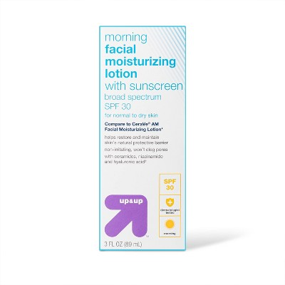 Morning Facial Moisturizing Lotion with Sunscreen SPF 30 - 3 fl oz - up & up™
