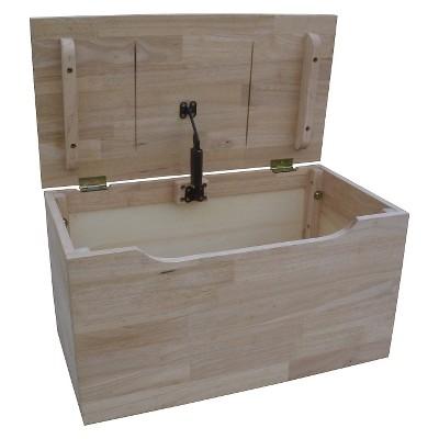 Superbe Storage Box Wood   International Concepts : Target