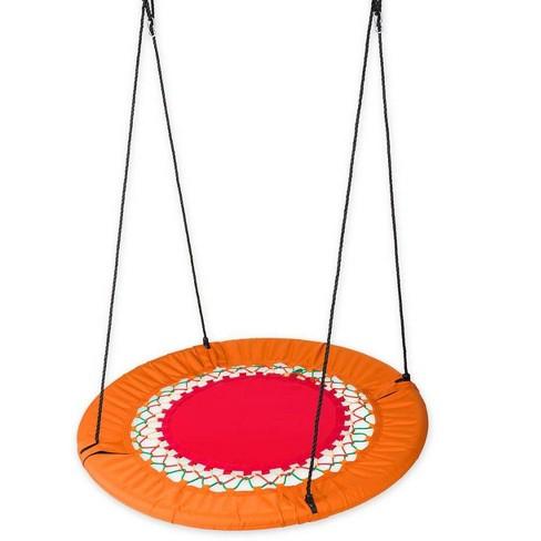 Mega Funshine Platform Swing Large Round Tree For Kids Hearthsong Target