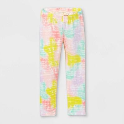 Toddler Girls' Tie-Dye Leggings - Cat & Jack™