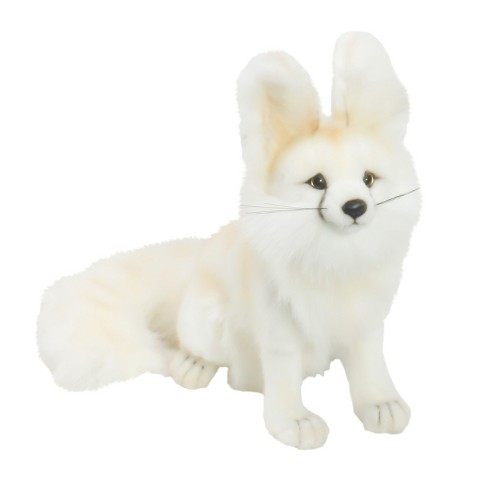 Hansa Seated Arctic Fox Plush Toy - image 1 of 1