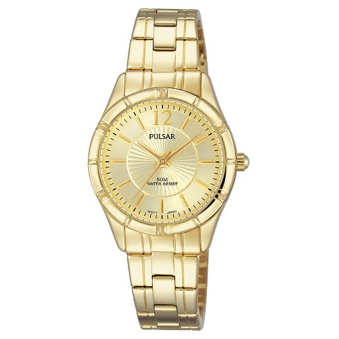 Women's Pulsar - Gold Tone with Champagne Dial PH8258 - image 1 of 1
