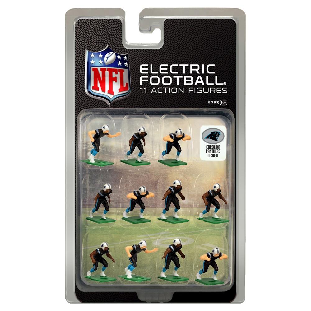 Nfl Carolina Panthers Tudor Games Home Uniform Electric Football Action Figure Set