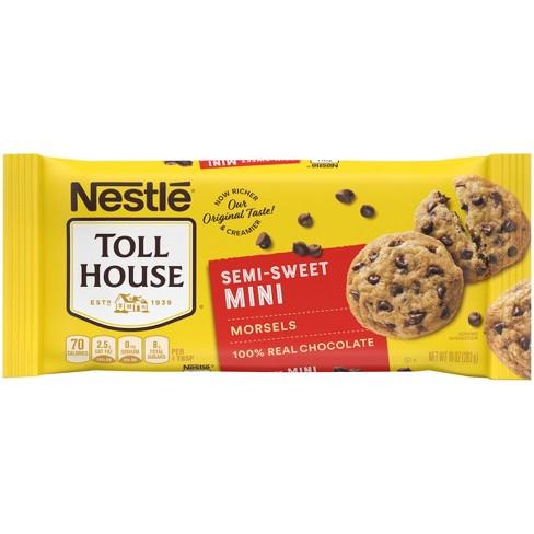 Nestle Toll House Gluten Free Semi-Sweet Chocolate Mini Morsels - 10oz - image 1 of 4