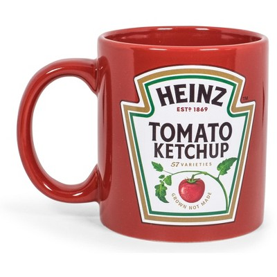 "Toynk Heinz Ketchup Logo ""Worth The Wait"" Ceramic Coffee Mug 