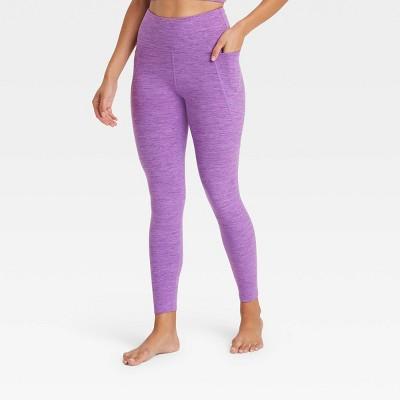 Women's High-Rise Cozy Spacedye 7/8 Leggings - JoyLab™