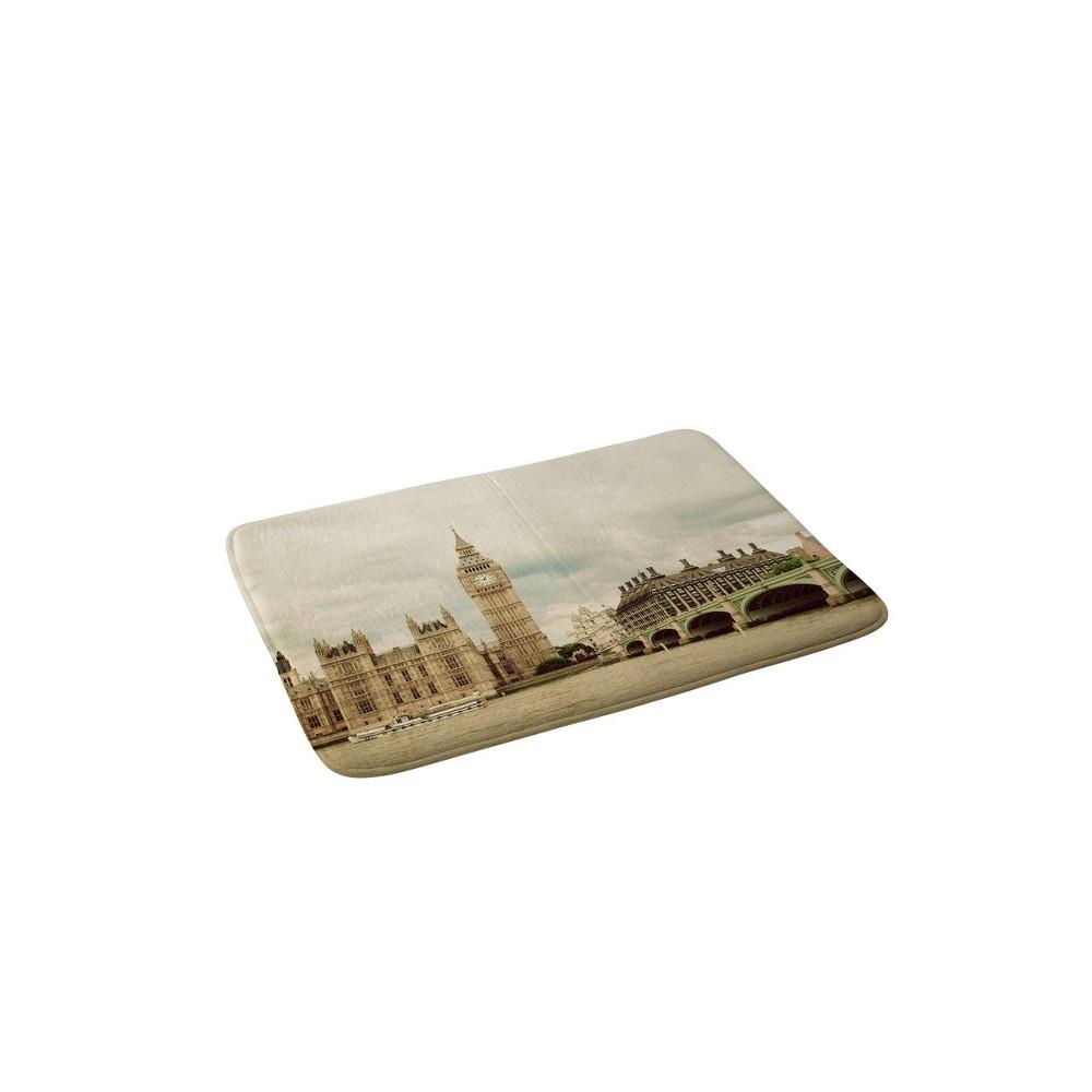 Image of Happee Monkee Big Ben Memory Foam Bath Mat Brown - Deny Designs