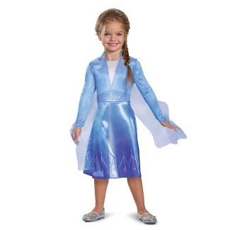 Kids' Disney Frozen Elsa (Classic) Halloween Costume Dress S (4-6x)