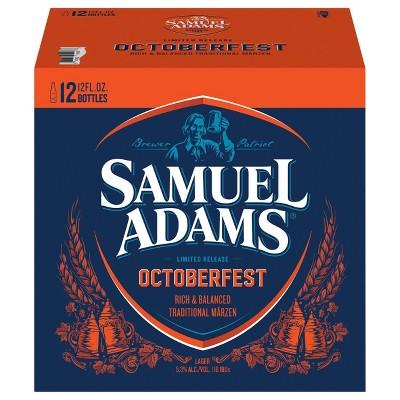Samuel Adams OctoberFest Seasonal Beer - 12pk/12 fl oz Bottles