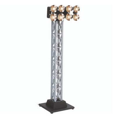 Lionel 682012 Plug Expand Play Electric O Gauge Single Floodlight Tower Model Train Accessory for Locomotive Layout Display with LED Lights