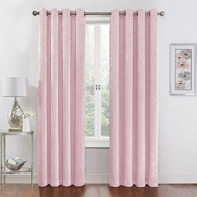 Regal Home 2 Pack: Regal Home Metallic Thermal Blackout Grommet Curtains