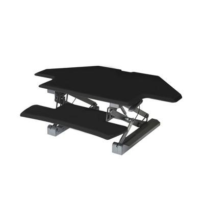Airlift Corner Height Adjustable Desk Converter Black - Seville Classics