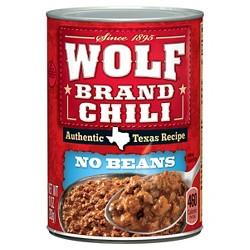 Wolf Brand Chilli 10 oz