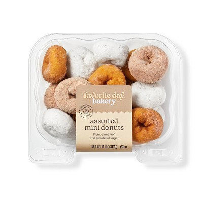 Assorted Mini Donuts - 11oz - Favorite Day™