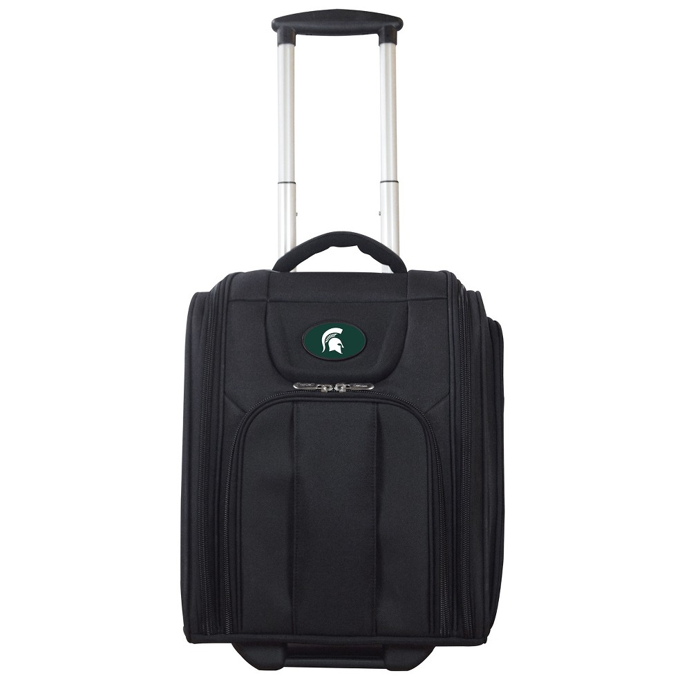 Ncaa Michigan State Spartans Deluxe Wheeled Laptop Briefcase Overnighter