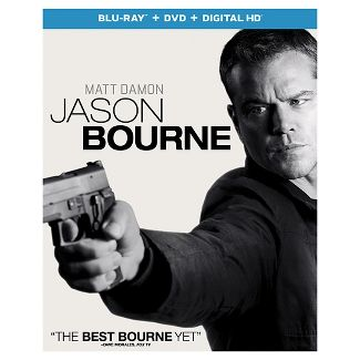 Jason Bourne (Blu-ray + DVD +Digital)