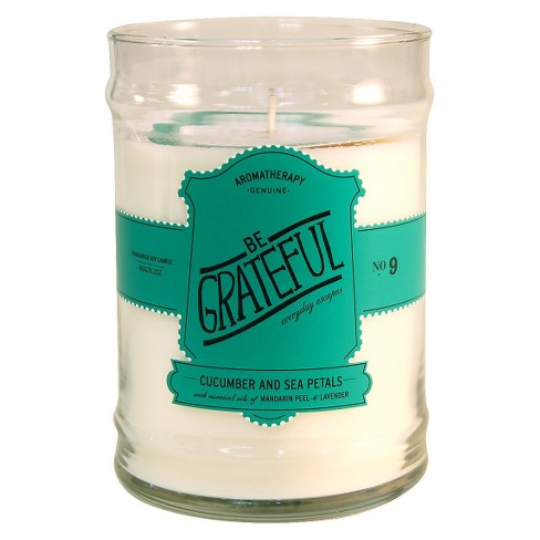 16.2oz Glass Jar Candle Be Grateful - Aromatherapy - image 1 of 1