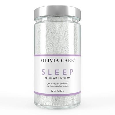 Olivia Care Bath Salts - Sleep - 12oz