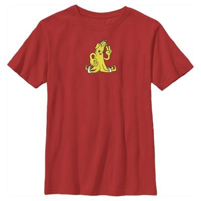 Boy's Fortnite Peely Peace Sign T-Shirt