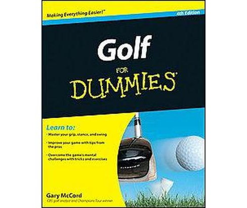 Golf for Dummies (Paperback) (Gary McCord) - image 1 of 1