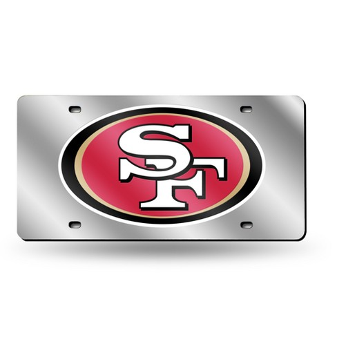 NFL Rico Industries Silver Laser Cut Auto Tag - image 1 of 1