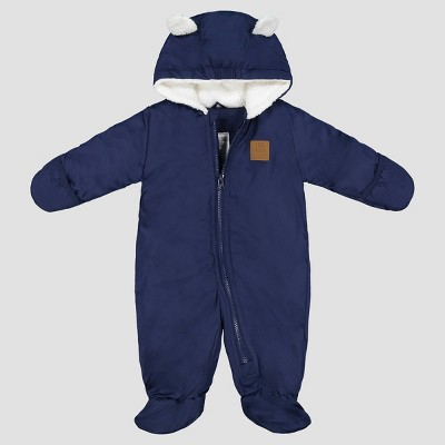 Baby Boys' Pram Snowsuit - Just One You® made by carter's Navy 9M