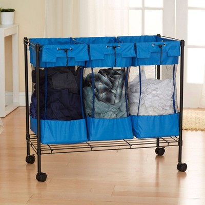 Household Essentials Triple Sports Storage Bin
