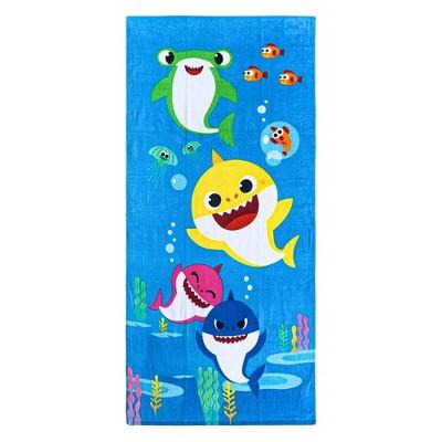 Pinkfong Baby Shark Feed Me Beach Towel