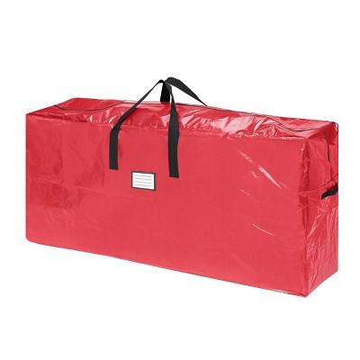 Elf Stor 9' Premium Christmas Tree Bag Holiday Extra Tall Red