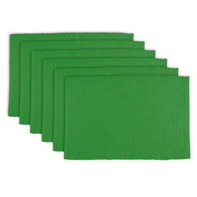 Green Sage Placemats (Set Of 6)- Design Imports