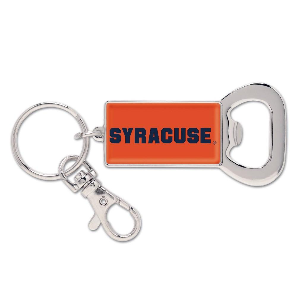 NCAA Syracuse Orange Lanyard Bottle Opener Keychain, Adult Unisex NCAA Syracuse Orange Lanyard Bottle Opener Keychain Gender: Unisex. Age Group: Adult. Pattern: Team logo.