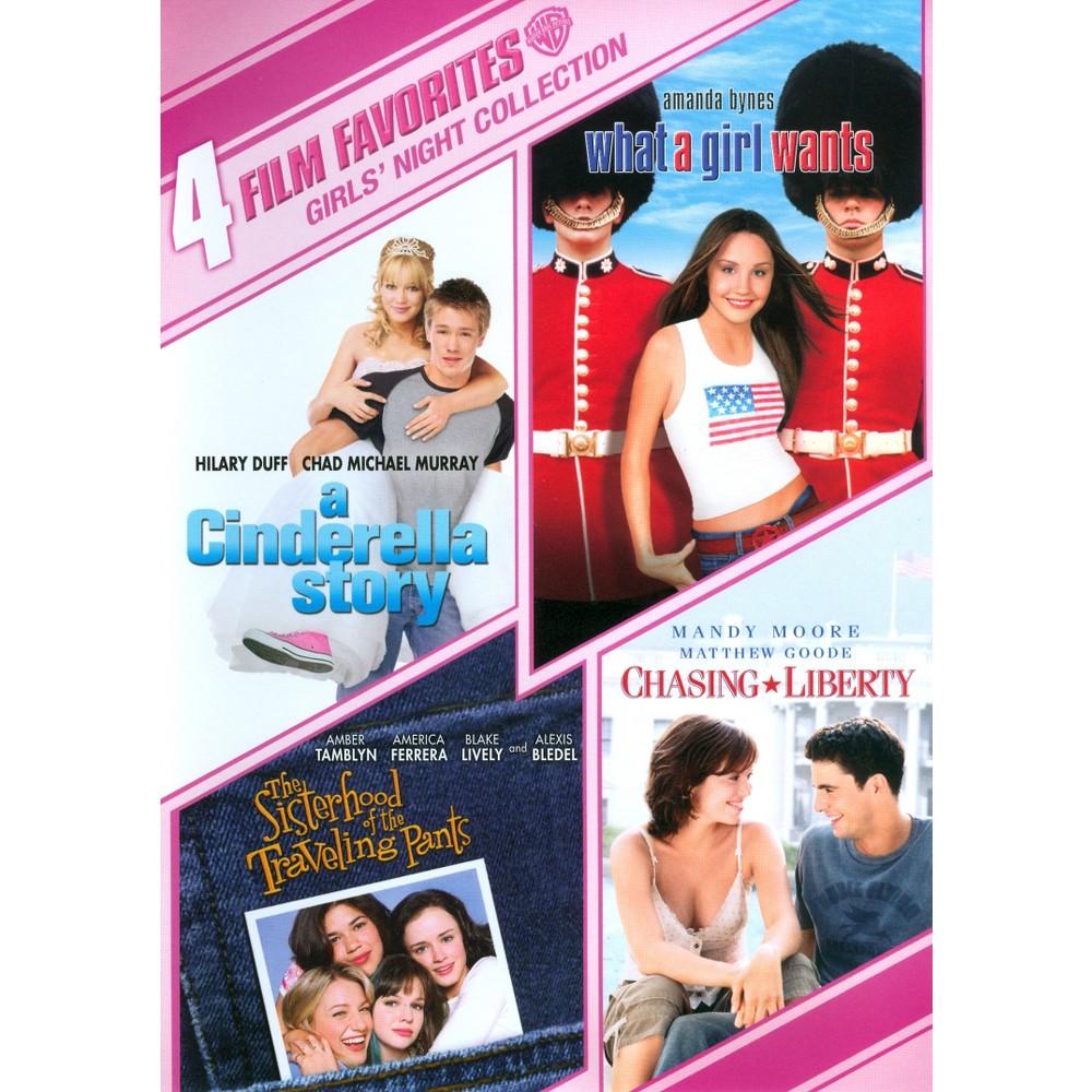 Girls' Night Collection: 4 Film Favorites (2 Discs) (dvd_video)