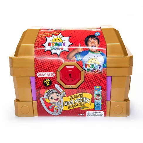 Ryan's World Royal Treasure Chest Exclusive - image 1 of 4