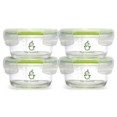 Sage Spoonfuls Tough Glass Bowls