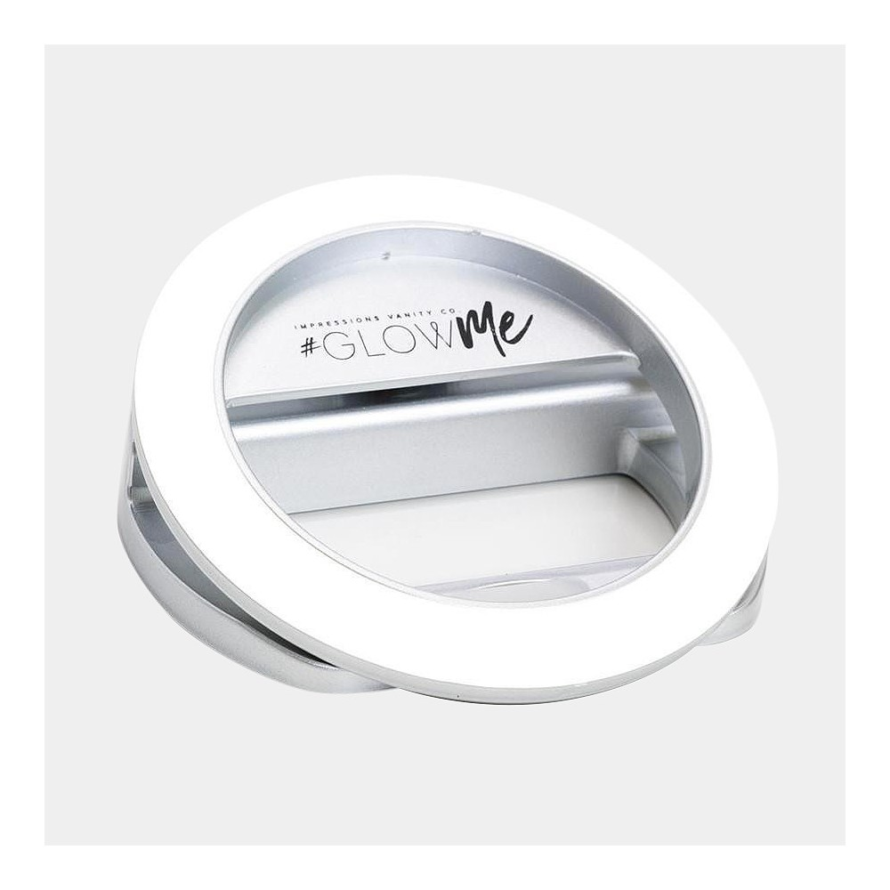 Image of Impressions Vanity GlowMe 2.0 LED Selfie Ring Light - White