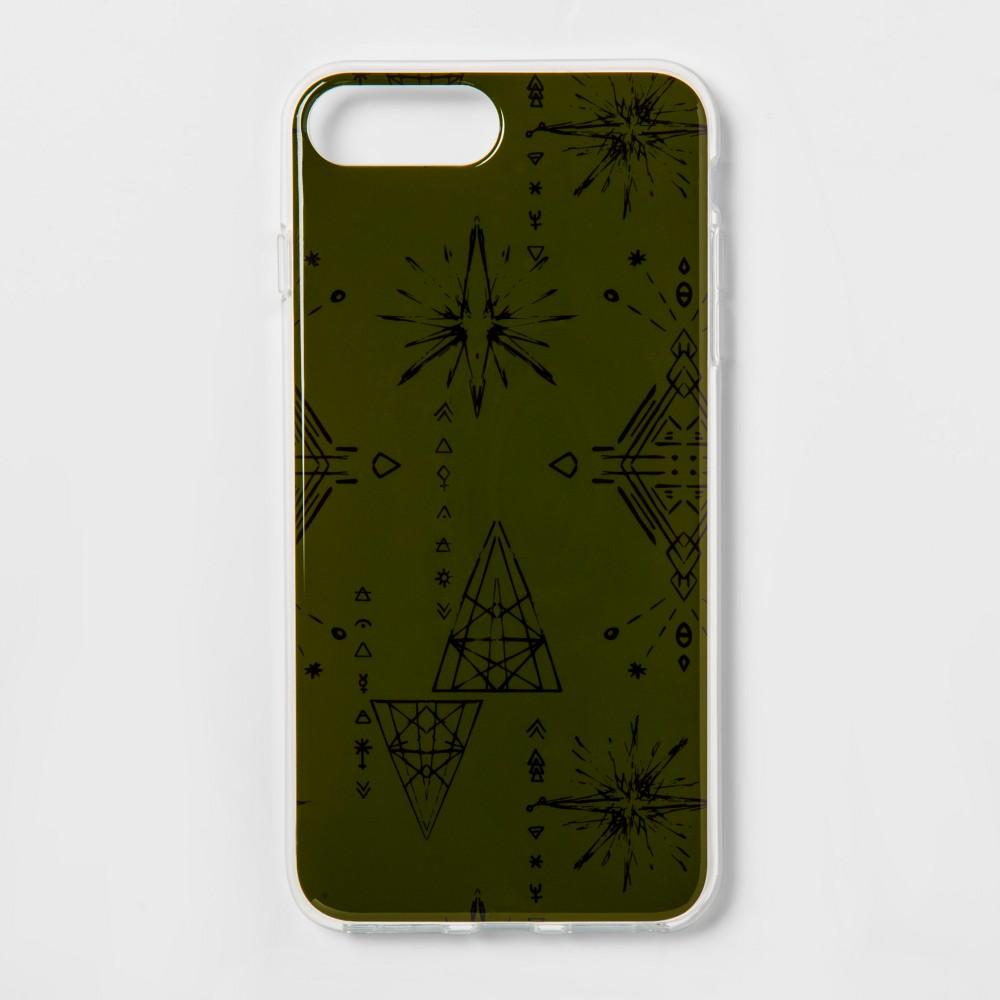 heyday Apple iPhone 8 Plus/7 Plus/6s Plus/6 Plus Cosmic Signs Case - Olive