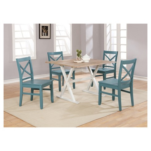 Drop Leaf Rustic 40 Dining Table White Threshold Target