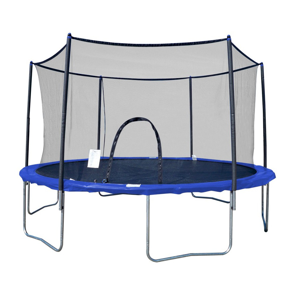 13' Airzone Trampoline and Enclosure, Blue