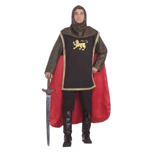 Men's Medieval Knight Halloween Costume - image 1 of 1