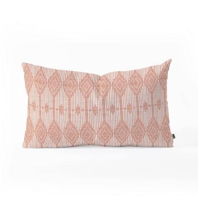 Heather Dutton West End Blush Throw Pillow Pink - Deny Designs
