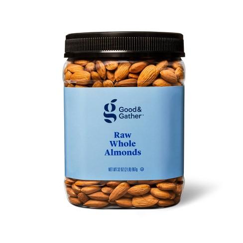 Raw Whole Almonds - 32oz - Good & Gather™ - image 1 of 3