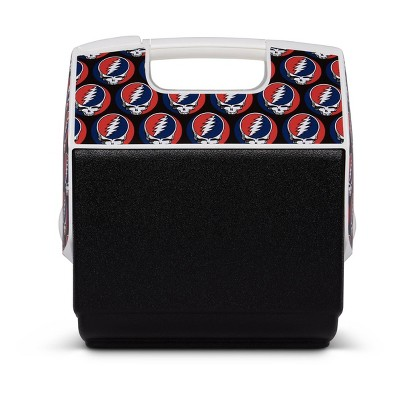 Igloo Playmate Pal Grateful Dead Steal Your Face 7qt Portable Cooler